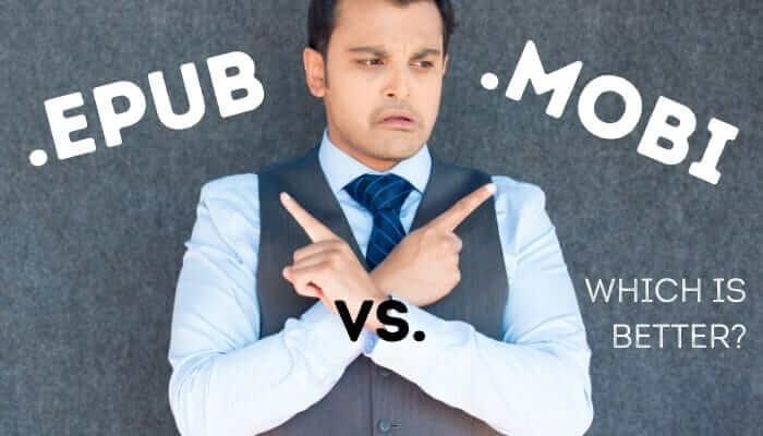 epub vs mobi